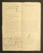 Sept Archives Commerciales Dactylographiées - Maison Lucas Steele & Bristol à Hamilton Au Canada - Canada