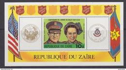 Zaire 1980 Salvation Army / L'Armee Du Salut M/s ** Mnh (35276A) Promotion - Zaïre