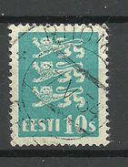 ESTLAND Estonia 1928 Michel 79 O PIIOMETSA - Estland