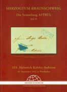 Braunschweig - Sammlung ASTRUL Teil 2 351. Köhler 2012 - Catalogi Van Veilinghuizen
