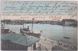 AK - (Dänemark) -  KOPENHAGEN - Hafenpartie 1906 - Dänemark