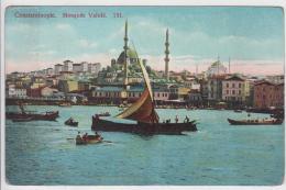 AK - (Türkei) -  CONSTANTINOPEL (Istanbul) - Blick Auf Die Valide Sultan- Moschee 1910 - Türkei