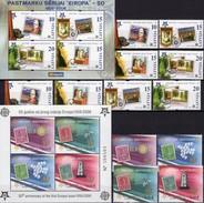 Blocks Latvija 652/9,Block 21+CRNA GORA 108/1+Bl.2 ** 45€ Hoja Blocs Art S/s Sheets Space M/s Bf 50 Years CEPT 2005 - Europa-CEPT