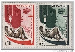 MONACO 1972 - SERIE N° 903 Et 904 - 2 TP NEUFS** - Monaco