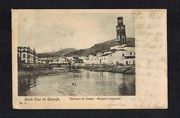 1905 Tenerife Spain Postcard Cover To San Francisco USA Barranco De Santos - Unclassified