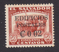 El Salvador, Scott #RA7a, Mint Never Hinged, Regular Issues Surcharged, Issued 1931 - Salvador