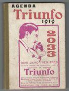 Notebook * Agenda * Portugal * 1919 * Triunfo - Europe