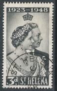 St Helena. 1948 Royal Silver Wedding. 3d Used. SG 143 - Saint Helena Island