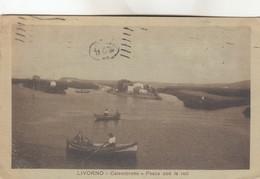 LIVORNO-CALAMBRONE -VEDUTA-PESCA CON LE RETI - Livorno