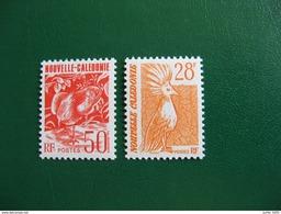 NOUVELLE CALEDONIE YVERT POSTE ORDINAIRE N° 587/588 NEUFS** LUXE - MNH - FACIALE 0,65 EURO - Neufs