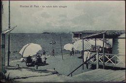 MARINA DI PISA Un Saluto Dalla Spiaggia - Formato Piccolo VIAGGIATA Nel 1928 - Pisa