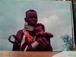 AFRICA  DONNA E BAMBINO WOMEN N1980 GI17587 - Cartoline