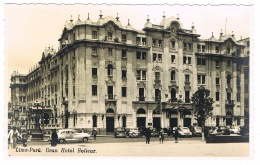 RB 1175 - Early Photo Postcard - Grand Hotel Bolivar - Lima Peru - Peru