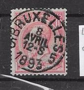 46Bruxelles 5  1893 - 1884-1891 Leopoldo II