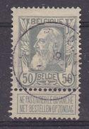 Belgie 1905 Grove Baard 50c Gest. (37067) - 1905 Grove Baard