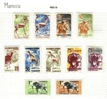 SPANISH MOROCCO, Telegraphs, * MLH, F/VF - Spanisch-Marokko