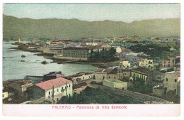 RB 1175 - Early Postcard - Panorama Da Villa Belmonte - Palermo Sicily Italy - Palermo