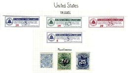 UNITED STATES, Telegraphs, * MLH, F/VF - Telegraph Stamps