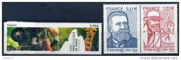 France : N° 4868 à 4870 Xx  Année 2014 - Neufs