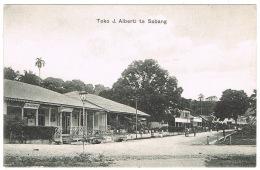 RB 1175 - Early Postcard - Store Toko J. Alberti Te Sabang - Dutch East Indies - Indonesia - Indonesia