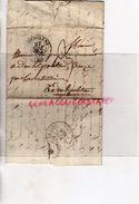 16-CONFOLENS- RARE CACHET POSTE 1838-LA SOUTERRAINE-THOMAS DURIS PROPRIETAIRE DUN LE PALLETEAU-LETTRE DE M. DE CHAMBORAN - Marcophilie (Lettres)