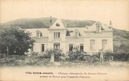63 - ROYAT - PUY DE DOME - VILLA ST AMABLE - CLINIQUE CHIRUGICALE DU DR PIOLET - VOIR SCANS - Royat