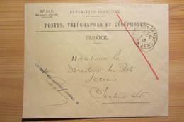Poste Aux Armées - Secteur Postal N° 36 (1er Mars 1940) - Postmark Collection (Covers)