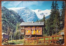 CHAMPOLUC Valle D'Aosta - Villa Alpestre E Catena Del Monte Rosa - Chalet Et Chaine Du Mont Rose Vg - Italia