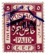 (I.B) Palestine Revenue : Ottoman Public Debt 5pt On 5pi (OPDA) - Palestine