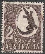 Australia. 1948-56 High Values. 2/- Used. C Of A W/M SG 224 - 1937-52 George VI