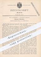 Original Patent - May & Kühling , Chemnitz , 1882 , Webschütze | Webstuhl , Weben , Weber , Weberei , Gewebe , Stoff !! - Historische Dokumente