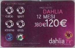 CARTA ACCESSO DECODER DAHLIA 3 MESI 120 E (N27.8 - Other Collections