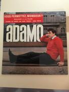 Adamo Vous Permettez Monsieur - Autres - Musique Française