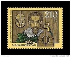 Hungary 2017 Mih. 5878 Music. Composer Claudio Monteverdi MNH ** - Hungría