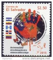 El Salvador 2015 ** Joint Issue. Eliminacion De La Violencia Contra La Mujer.  See Desc. - El Salvador
