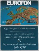 SCHEDA PREPAGATA USATA WESTEL - EUROFON  (M21.4 - Italy