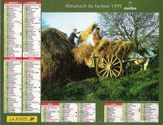 ALMANACH DU FACTEUR 1999 CHARENTE - Calendriers