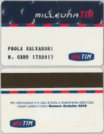 CARTA MILLEUNATIM TIM (M30.3 - Italy
