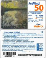 RICARICA USATA WIND 1153 31-12-01 CAB 25 PIN PUNTINATO (M33.3 - Italy