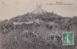 CPA Hippone - Le Tombeau Et La Basilique Saint-Augustin - 1908 (31219) - Annaba (Bône)