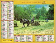 ALMANACH DU FACTEUR 2000 CHARENTE - Calendriers