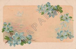 Fleurs Et Oiseau (Recto-Verso) - Illustrateurs & Photographes