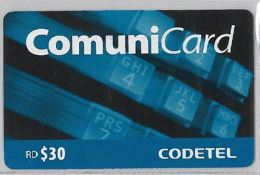 CARTA TELEFONICA REPUBBLICA DOMENICANA (M83.3 - Dominicana