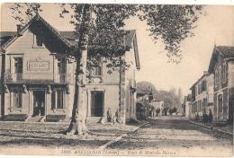 ***** 40 ****  ARENGOSSE Route De Mont De Marsan TTB Timbrée - Other Municipalities