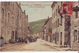 Cpa  Riotord La Grand'rue - Sonstige Gemeinden