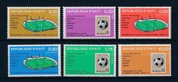 Haiti, 1973, Football World Cup, Soccer, MNH, Michel 1243-1248 - Haití