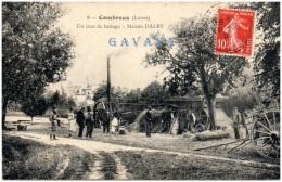 45 COMBREUX - Un Jour De Battage - Maison Dalby - Frankreich