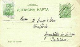 SERBIA, 1913, Postal Stationery - Serbie