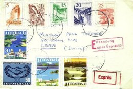 YUGOSLAVIA, 1965, Cover - Covers & Documents
