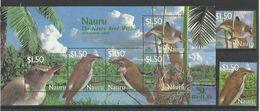 NAURU  2003  REED WARBLER 2V + SHEET  MNH - Non Classés